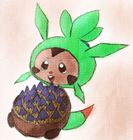 Chespin for the contest by Martipon