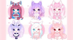 [CLOSED] Adoptables 70 by Shiina-Yuki