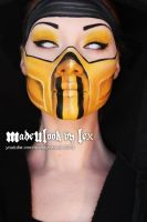 Scorpion Mortal Kombat by MadeULookbylex