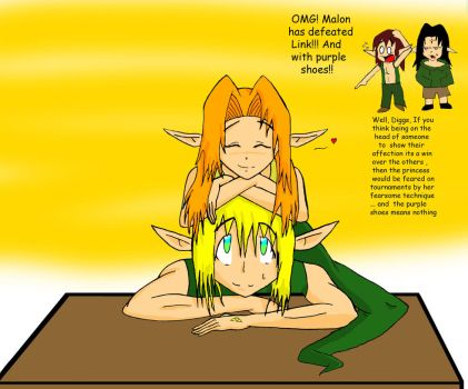 malon x link color by racth