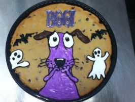 courage cookie cake by misstakenX