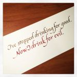Instagram - Now I Drink for Evil by MShades