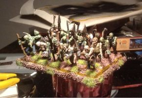 Vampire Counts Zombie Regiment by Brother-Maynard
