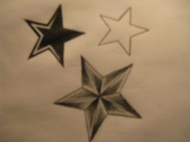 stars tattoo 'incomplete' by IceMaster91