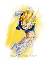 The Prince of all Saiyans by Arkyz