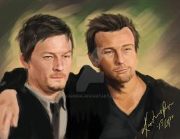 Boondock Saints Fan Painting by Kauriga