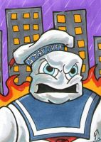 Stay Puft Marshmallow Man PSC by johnnyism