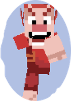 Wreck It Ralph Minecraft skin - Moving mouth. by DeinoLover4ever