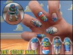 Toy story nails by Ninails