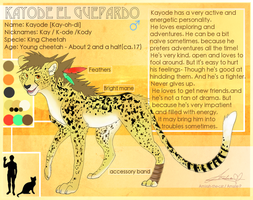 CE: Kayode Ref Sheet by Amirah-the-cat