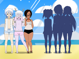 Beach hangout Collab (closed) by Captain-Piemaker
