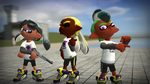 New Inkling Boy Hairstyles by Sergeant-Sunflower