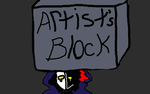 When art block attacking by Hewhouseice