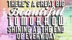 Great Big Beautiful Tomorrow - Wallpaper by Talik13