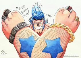 Happy Birthday Franky by Shashi92