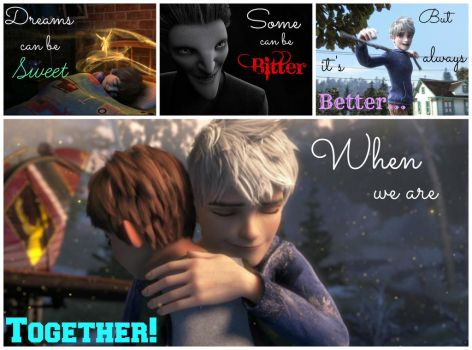 Dream Together(finished)-ROTG-Jamie and Jack by MidnightBlaze7