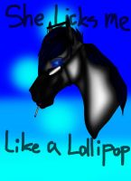 She licks me like a lollipop. by AnnMartini