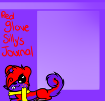 Journal skin For redglovesilly .:PC:. by HalloweenBerry