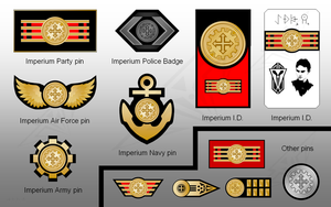 Imperium Medals and Pins 2 by sauronmrc