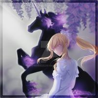 Sharon and Eques | Pandora Hearts by Mikkie33