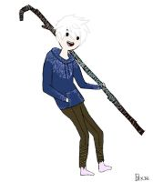 Jack frost/Adventure Time crossover by lifelacksofmadness