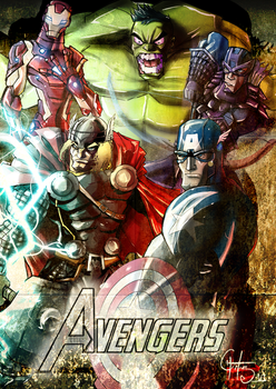 Avengers by theSadSon