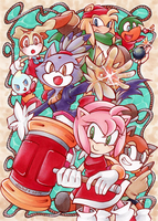 Sonic the Hedgehog : Pirate Plunder Panic by Tiara-C