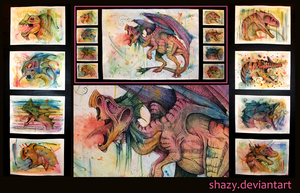 Monstrous Monsters by shazy
