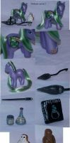 Slytherin custom pony V. 2 by Woosie