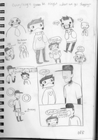 OFF doodles numero dos by nautical-anchors