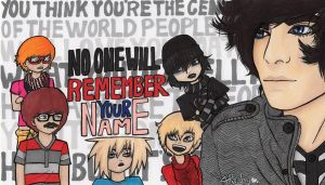No one will remember your name - Onision by Haiyaku-art