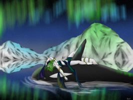.:Aurora and the Orca :. by kovat