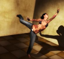 The Dancer - Pose 6 by Afina79