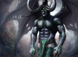 Illidan Stormrage by AndreiKolosov