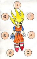 Super Saiyan Sonic by DarkShinkei5