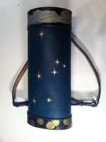 Commission: Custom LARP Leather Quiver by SonsOfPlunderLeather