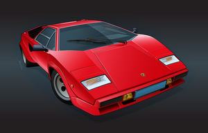 Countach 5000QV by under18carbon