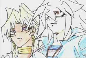 Marik and Bakura by Vamps17
