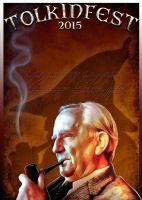 Tolkien Festival 2015 Poster by bcimesa