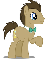 Vector #483 - Dr. Hooves #2 by DashieSparkle