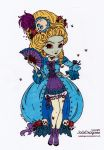 Marie Antoinette's Come Back Colored by Maiko-Girl