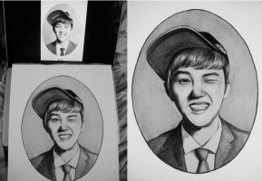 D.O EXO First CLass by Devient-tart