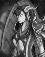 Draenei Hunter by keefengrind
