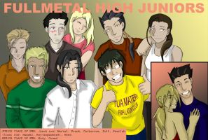 Fullmetal High Yearbook by devils-nest