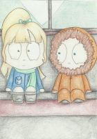 Kenny and kelly by Smacky35