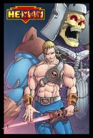 MotU He-Slave and Skeletor by Killersha