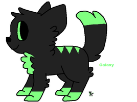 Galaxy (New Oc 2) by xXWolfandCat23Xx