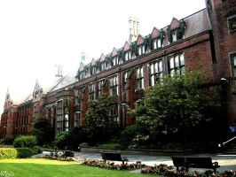 Newcastle University by Babbling-Bubbles