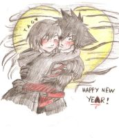 Vanitas And Xion by GummyDrive