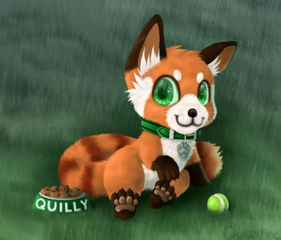 Quilly 2 by Quillyfox